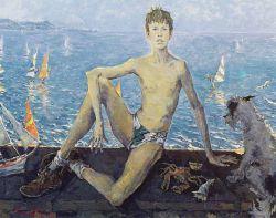Portrait of Serguei Tchepik Jr (the artist's son)