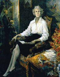 Portrait of Ann Callender-Barker