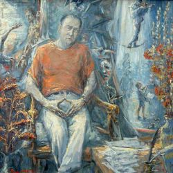 Portrait of Andrey Karaulov