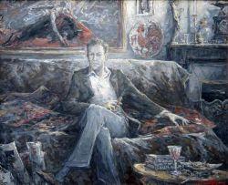 Portrait of Vsevolod Mikhailov