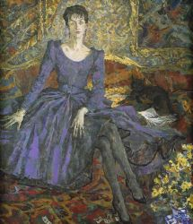 La Dame en Violet