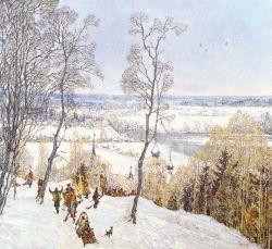 Christmas at Staraya Ladoga