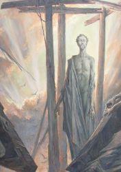 The Resurrection - détail