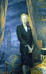 Portrait of Baroness Margaret Thatcher