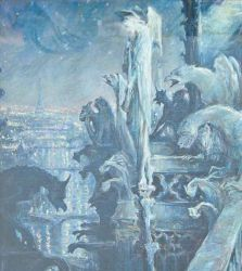 Hommge to Monet, Evening