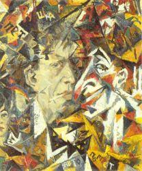 Self-Portrait with Petrushka