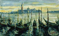 Venise, Gondoles et San Giorgio Maggiore